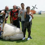 skydiving on the amalfi coast