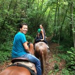 horse riding on the Amalfi Coast
